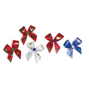 Holiday Bows - Christmas, Package of 50