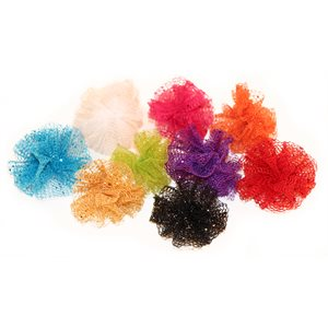 Glitter Puff Bows, Package of 36