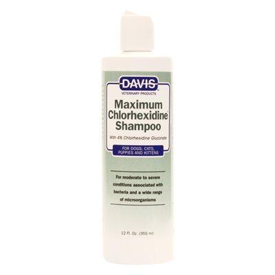Maximum Chlorhexidine Shampoo, 12 oz.