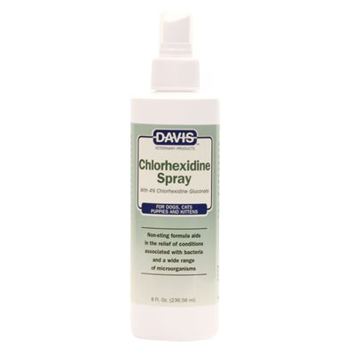 Chlorhexidine Spray, 8 oz
