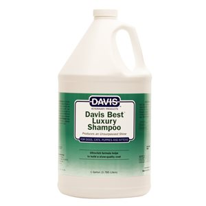 Davis Best Luxury Shampoo, Gallon