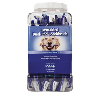 DentaMed Dual-End Toothbrush, 50 count