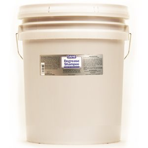 Degrease Shampoo, 5 Gallon Bucket