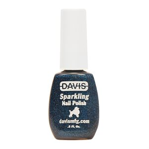 Sparkling Nail Polish, 0.5 oz.- Dark Blue