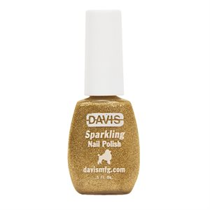 Sparkling Nail Polish, 0.5 oz.- Festive Gold