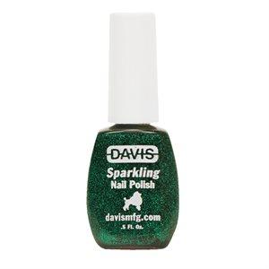 Sparkling Nail Polish, 0.5 oz.- Emerald Green