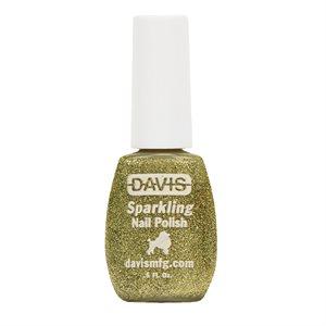 Sparkling Nail Polish, 0.5 oz.- Light Green