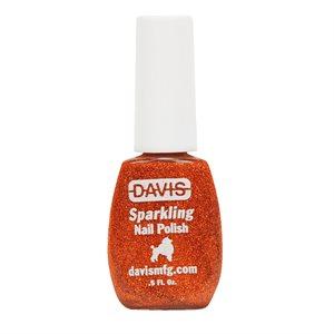 Sparkling Nail Polish, 0.5 oz.- Orange
