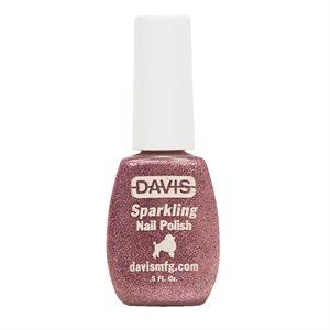 Sparkling Nail Polish, 0.5 oz.- Rose