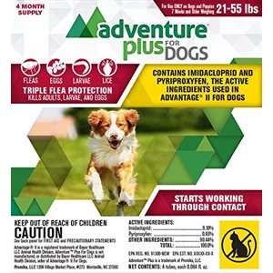 Adventure Plus for Dogs- Large (21- 55 lbs)