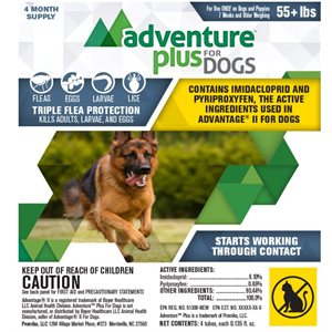 Adventure Plus for Dogs- Extra Large (55+ lbs)