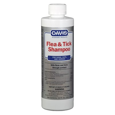 Flea & Tick Shampoo, 12 oz.