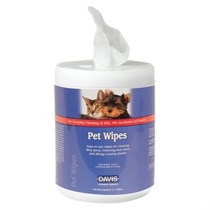 Pet Wipes- 160 Sheets