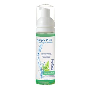 Simply Pure Foaming No-Rinse Bath, 8.5 oz.