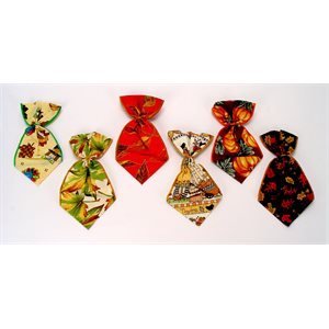 Autumn Bowser Ties - 12 Medium Assorted Designs