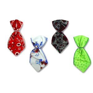 Fashion Bowser Ties - 12 Medium Assorted Designs